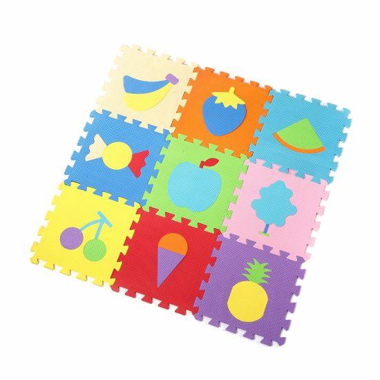 China Eva Puzzle Mat Foam Floor Mat Baby Education Non Slip China