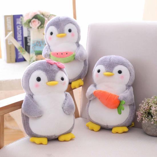 Creative Hugging Fruit Penguin Plush Stuffed Animal Toys