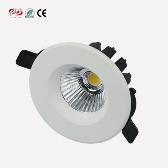 online store d2bb7 344a3 Anti Glare Mini LED Downlights 75mm Cut Hole 5W 7W Small Recessed COB  Downlights for Shops