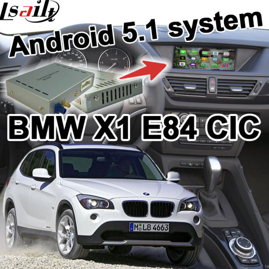 Android GPS Navigation Box Video Interface for BMW E84 X1 Cic System Mirror  Link Youtube Waze