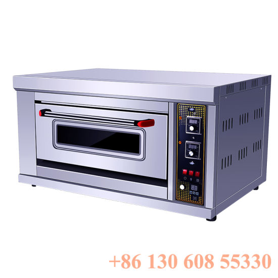 Gas Commercial Catering Equipment Single Deck Baking Oven
