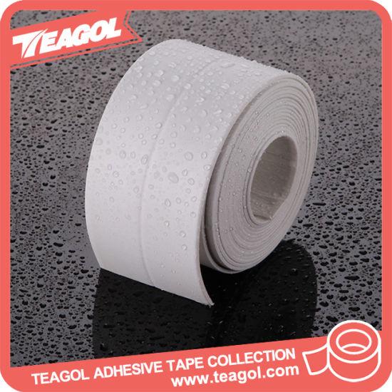 China 22mm Double Glue Bath Tub Caulk Water Tight Strip Tape China