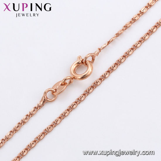 44677 Fashion Gold-Plated Rhinestone Women Jewelry Necklace in Copper Alloy pictures & photos