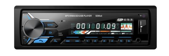 High Quality Car Radio Player with FM/ Bluetooth/ Multi Color LED pictures & photos