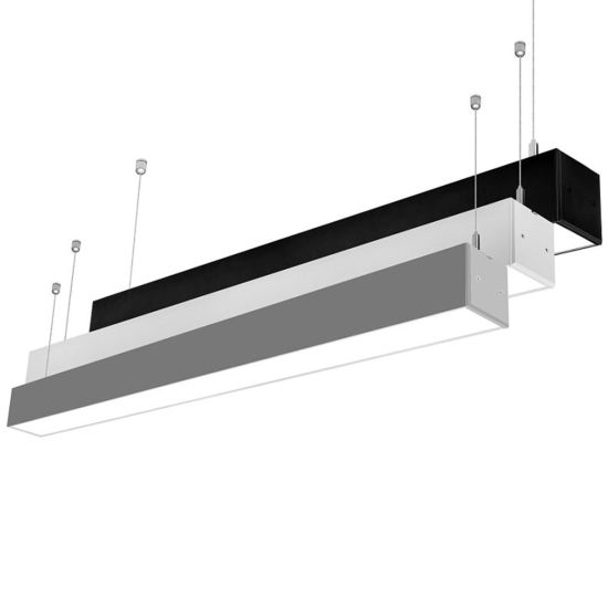 China connectable led linear light pendant light for modern office connectable led linear light pendant light for modern office lighting mozeypictures Choice Image