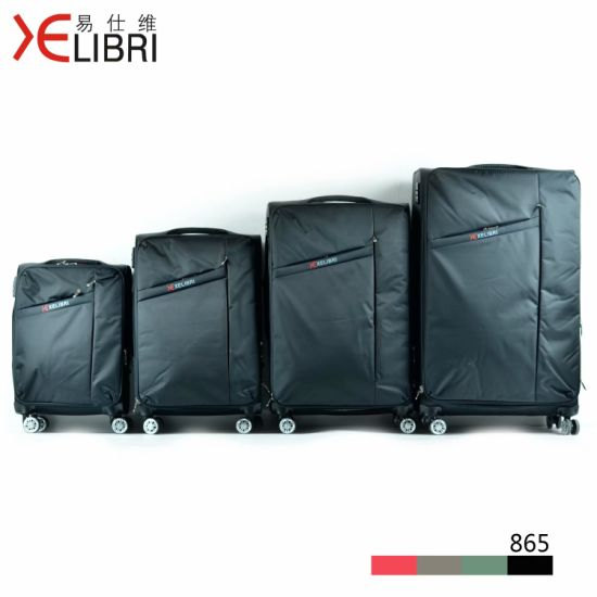 2020 New Xelibri Branded Designer Spinner Soft Travel Luggage Set pictures & photos