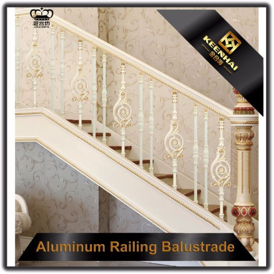 Indoor Aluminum Stair Railing Baluster For Staircase And Balcony
