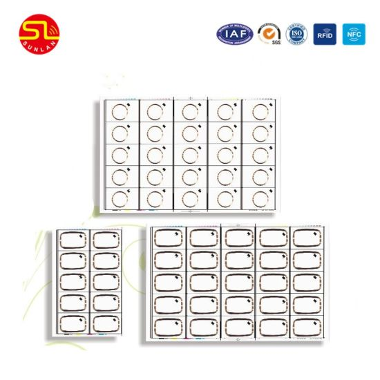 Wholesale RFID Card Inlay RFID Inlay Prelam Sheet with 3 by 8 Layout pictures & photos