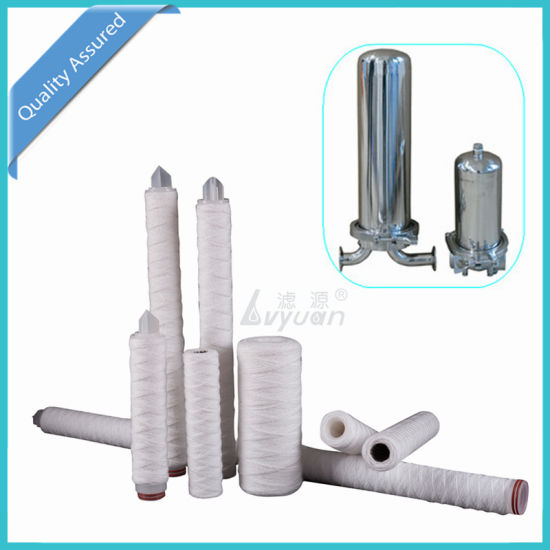 10 Micron 30 Inch PP String Wounded Water Filter Cartridge for Water Purification RO System