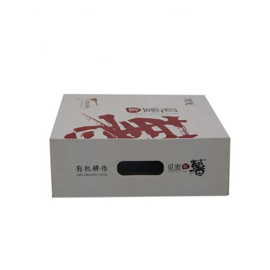 Factory Custom Cardboard Fruit Box Food Packaging Box