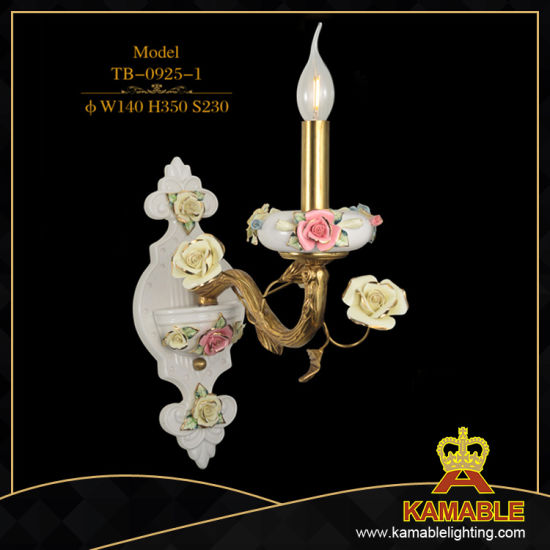 Flower Decorative Home Brass Wall Lamp (TB-0925-2) pictures & photos