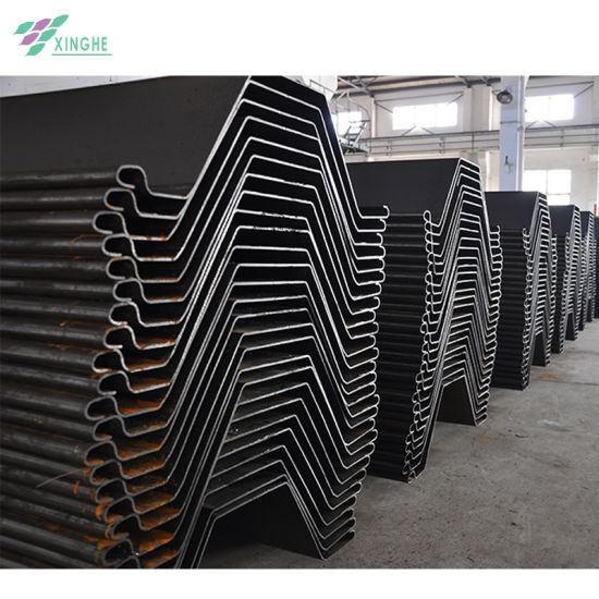 Good Quality Factory Supply Cold Formed U Shaped Sheet Pile for Retaining Wall