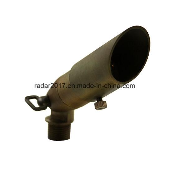 Low Volatge Landscape Lighting Fixture LED Lawn Light Brass Spot Light MR11 Lamp