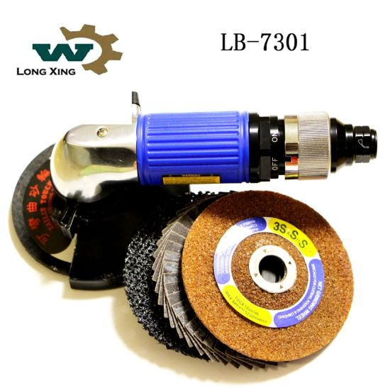High Quality Portable Air Tool Sander Crown Pneumatic Angle Grinder