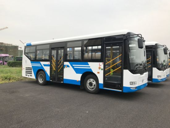 New Design 50 Seats Capacity Passenger BRT City Bus for Sale pictures & photos