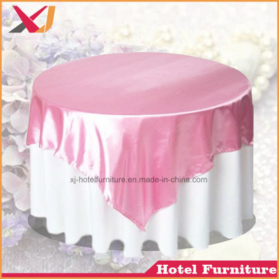 Luxurious Wedding Event Banquet Party Hotel Table Cover pictures & photos