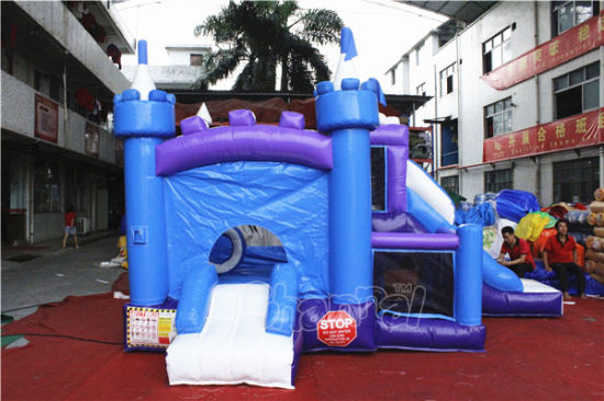 8 in 1 Frozen Inflatable Jumping Castle Combo Chb724 pictures & photos