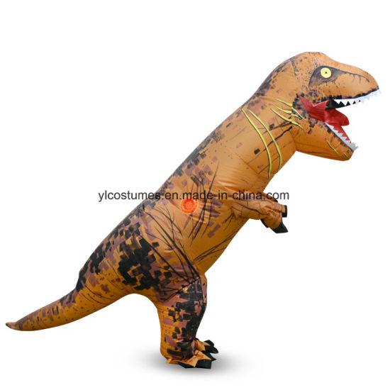 Small MOQ Holloween Adult and Children Size T-Rex Dinosuar Costume  sc 1 st  Yiwu Yelong Costumes Factory & China Small MOQ Holloween Adult and Children Size T-Rex Dinosuar ...