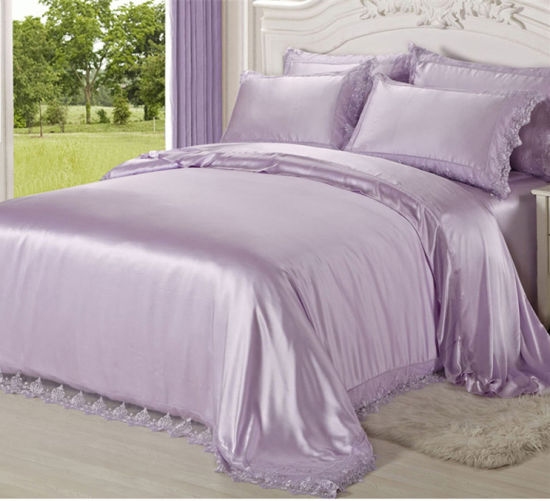 100% Pure Luxury Mulberry Silk Soft Skin Bed Linen pictures & photos