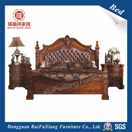 B232 Ruifuxiang Antique Style Bedroom Furniture Bed - China B232 Ruifuxiang Antique Style Bedroom Furniture Bed - China