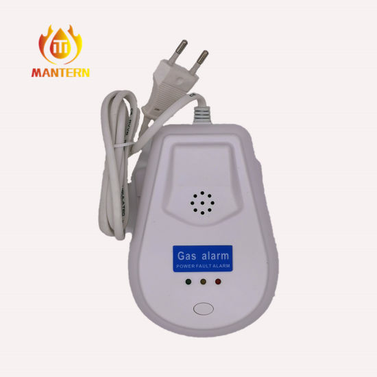 110V / 220V Natural Gas Gas Detector Alarm with Valve or Relay Output