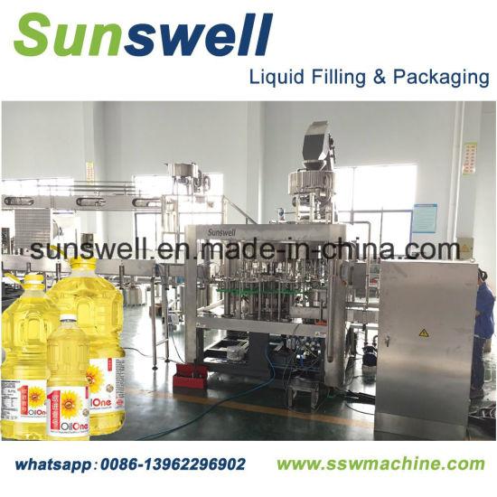 China Bottled/Bottling Edible Oild Filling, Capping Packing