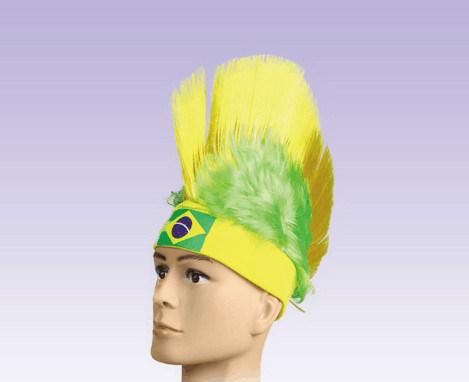 Soccer Novelties/ Fans Wig/ World Cup Wig