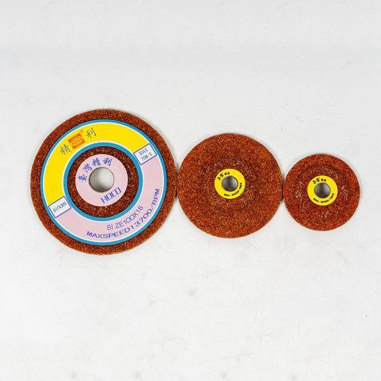 """Ceramic Grinding Wheel Machine Grinding Stone 3"""" Fiber for Grinding Wheel 125"""
