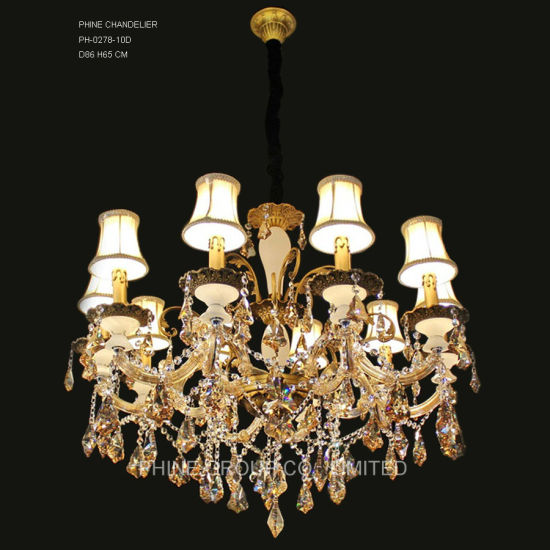 Phine pH-0819m-6  Arms Modern Swarovski Crystal Decoration Pendant Lighting Fixture Lamp Chandelier Light pictures & photos