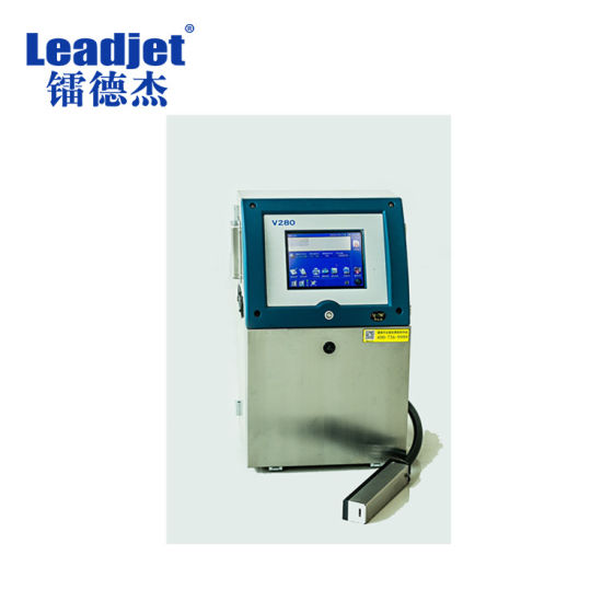 Leadjet V280 Industrial PVC Pipe Printer Date Code Inkjet Printer pictures & photos