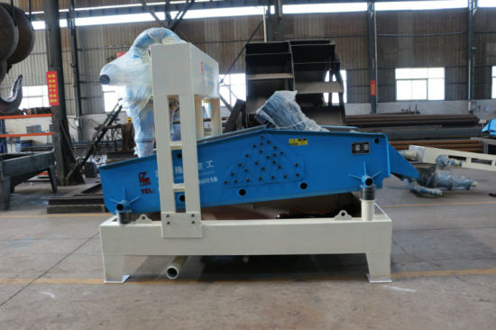 Linear Dewatering Screen with Hydrocyclone Separator pictures & photos