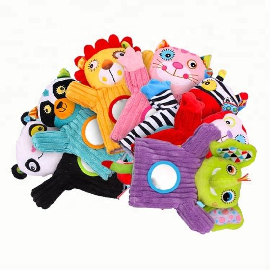 Zoo Friends Animals Hand Puppet Baby Toy