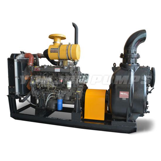 Zw Non-Clogging Horizontal Self-Priming Diesel Water Pump