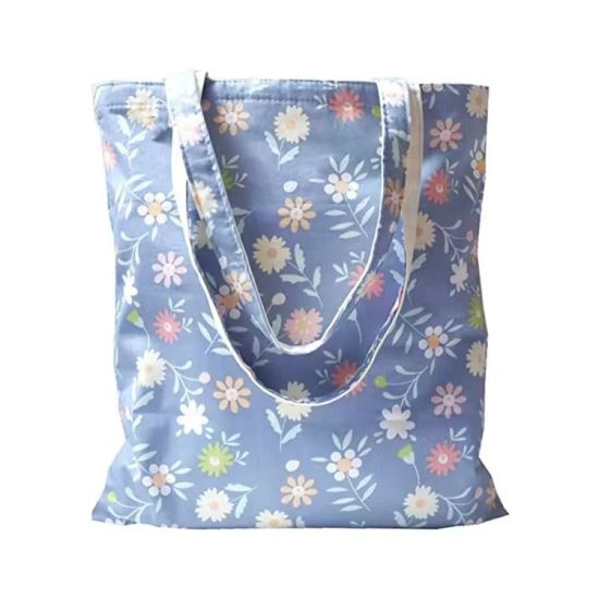 Best Selling Eco Friendly Foldable Cotton Shopping Tote Bags