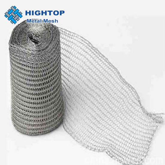 0.23mm Wire Diameter 316 Stainless Steel Knitted Wire Mesh for Demister Pad Gas-Liguid Separator
