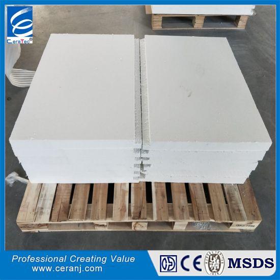Pure White Thermal Insulation Ceramic Fiber Board for Pizza Oven