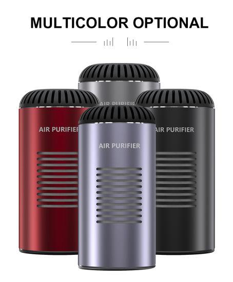 Popular Mini Portable Car Air Ionizer UV Sterilizer Air Purifier