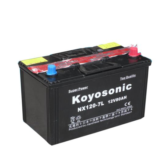 DIN Standard 12V 85ah Dry Charged Car Battery Automotive Battery