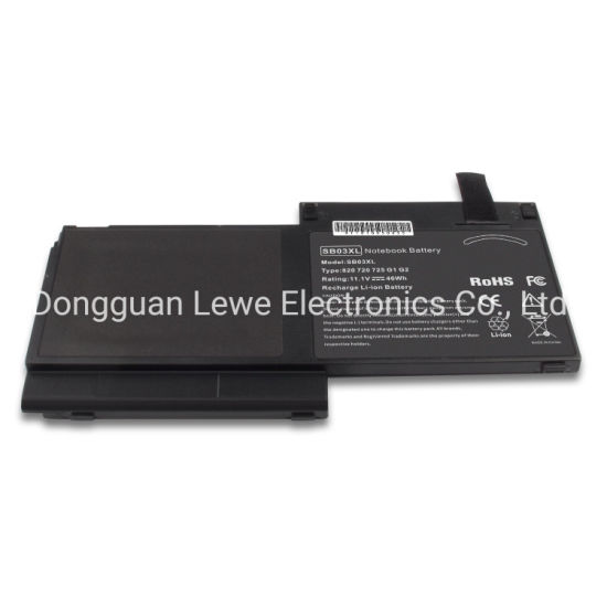 Sb03XL Battery for HP Elitebook 820 G1 725 G2 Hstnn-Lb4t 716726-421 Hstnn-I13c Battery