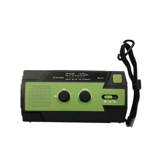 Solar Multifunction Radio with Power Bank and Torch pictures & photos