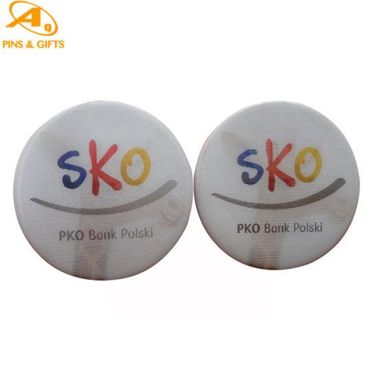 Round Name Price Press Metal Heart Custom Plain 25mm Buttrflyclutch Pin Hearttin 3D Button Badge
