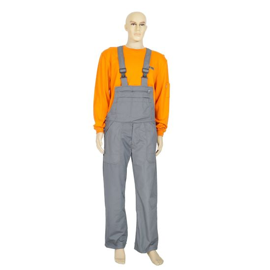 Workwear Uniform Jumpsuit Safety Security Coverall with 100% Cotton