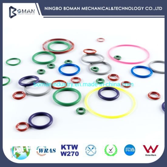 O Ring X/Y Ring Gasket Molded Rubber Parts Sealing Hydraulic Seals FEP O Ring for Hydraulic Motor