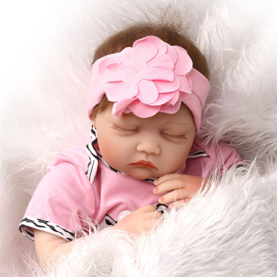 Reborn Dolls Wholesale 22 Inch 55cm Sleeping Soft Silicone Reborn Baby Boy Girl Dolls for Children Gift Bebe Alive Reborn Bonecas Toys pictures & photos