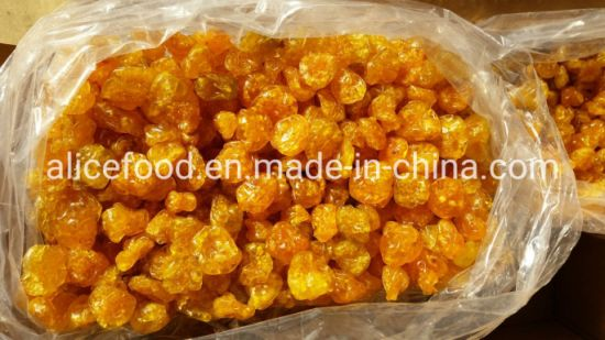 Dried Golden Berry for Snacks Without Colorant
