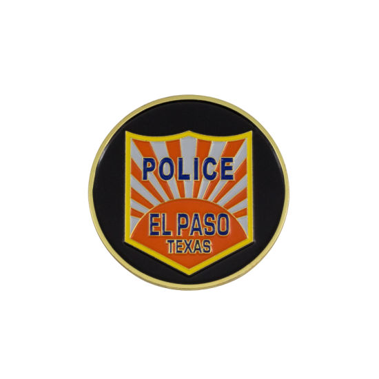 Customized Enamel Us Police Coin Coin RFID Tag 3D Emblem Functional pictures & photos
