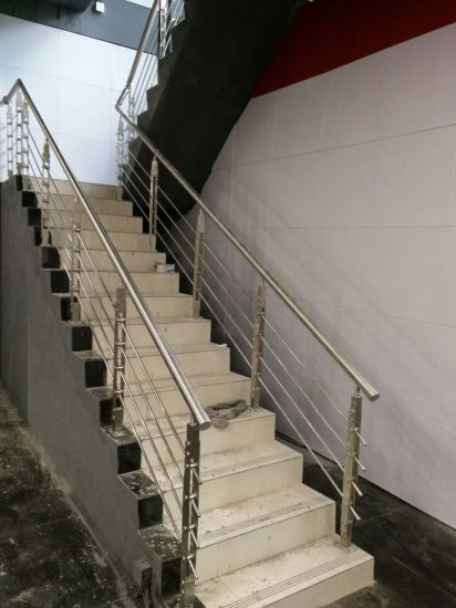 SUS 304 Stainless Steel Balcony/Staircase Railing