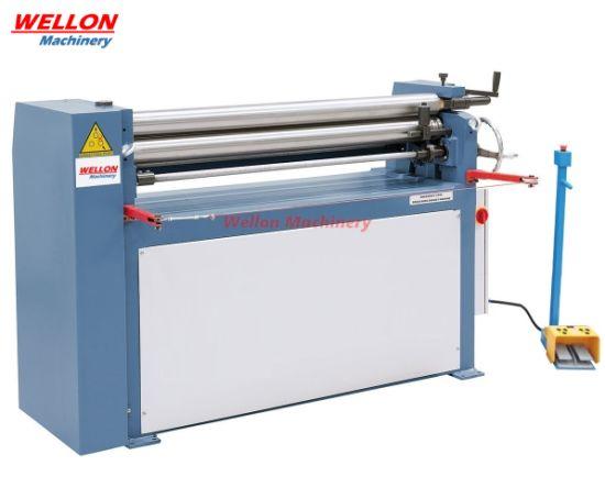 Electric Slip Rolling Bender Machine (ESR-1300X2.5/4.5 Electric Plate Roller Machine)