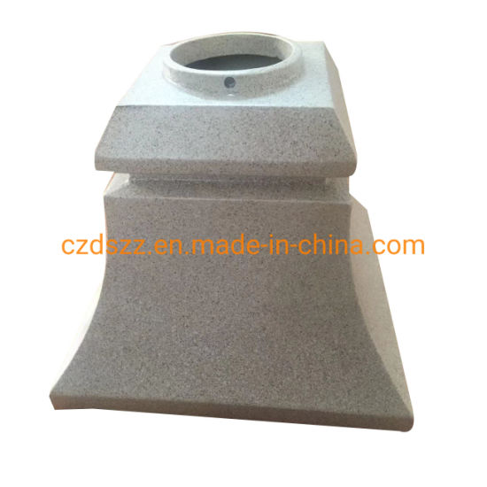 Aluminum Alloy Sand Casting Street Lighting Pole Base/Top Fitters/Dual Arms pictures & photos