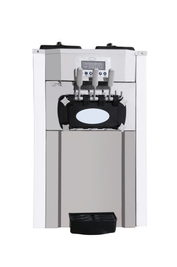 Counter Top Stainless Steel Soft Ice Cream Machine pictures & photos